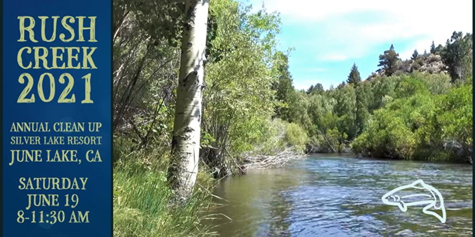 Rush Creek Clean Up
