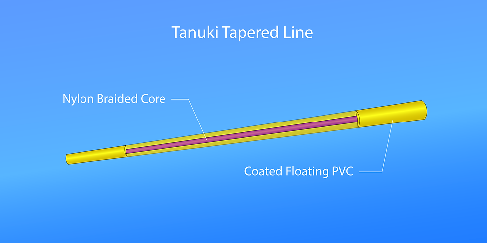 Register Now to Get a Free Tanuki Tapered Line for Testing
