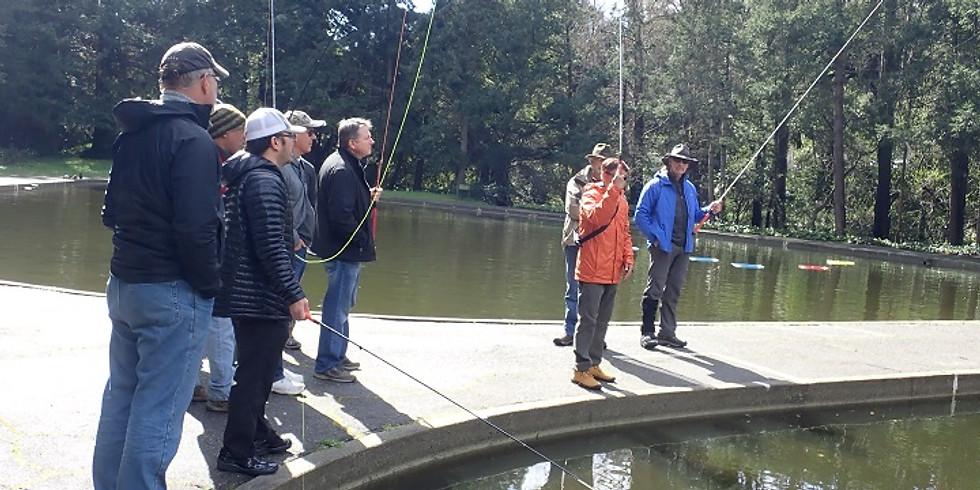 Long Beach Casting Club - Tenkara Fishing Workshop