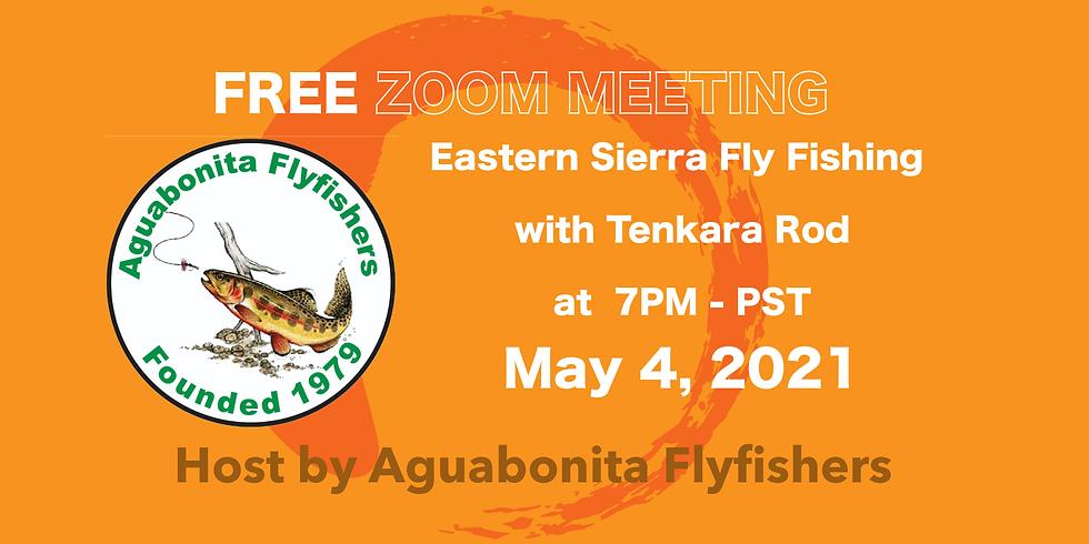 Eastern Sierra Fly Fishing with Tenkara Rod