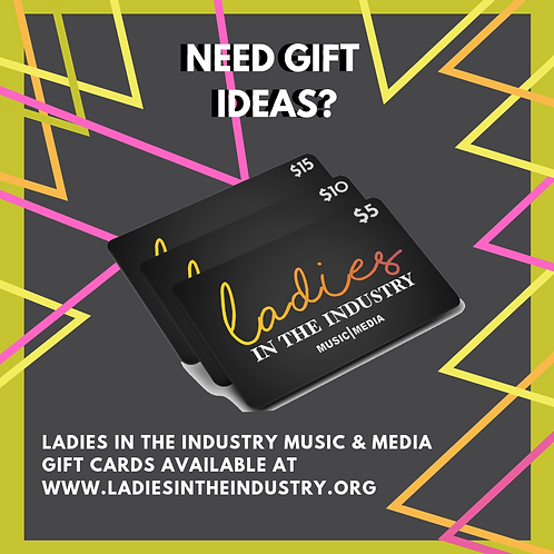 Ladies in the Industry Conference Gift Card