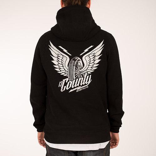 Wings Zip Hoodie