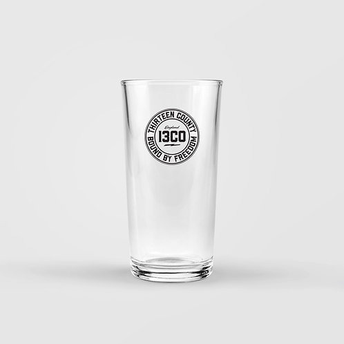 13CO PINT GLASS