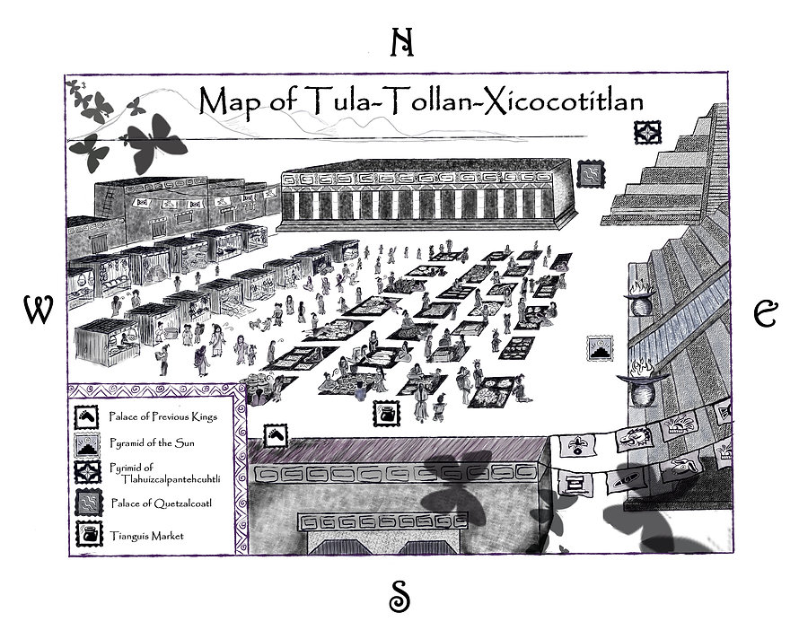 The Aztecs of Ancient Mexico prided themselves on their Toltec ancestry.