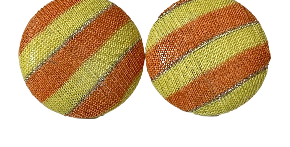 Retro Stripe Earrings
