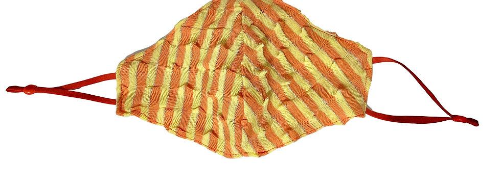 Retro Stripe Mask