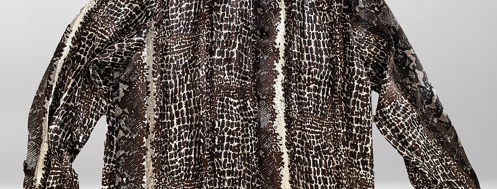 Sellecca Mixed Print Blouse