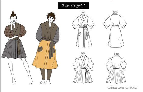 Kimono Inspiration Design