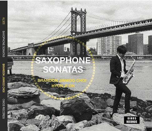 Saxophone Sonatas Brandon Jinwoo Choi