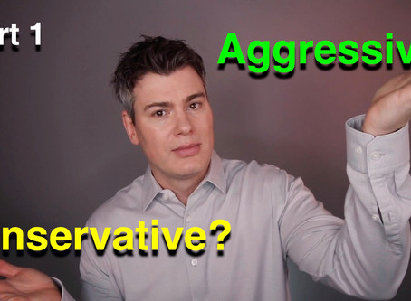 Aggressive vs Conservative part 1  -  Avoiding losses
