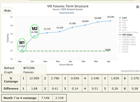 VIX futures and monthly expiration  -  Part 1