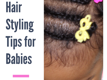 No Fuss Hair Styling Tips for Babies