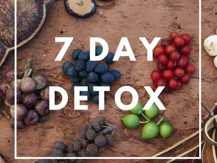 7 Day Detox Plan