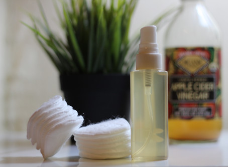 DIY Organic Apple Cider Vinegar Toner