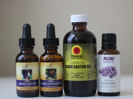 DIY Natural Hair Oil
