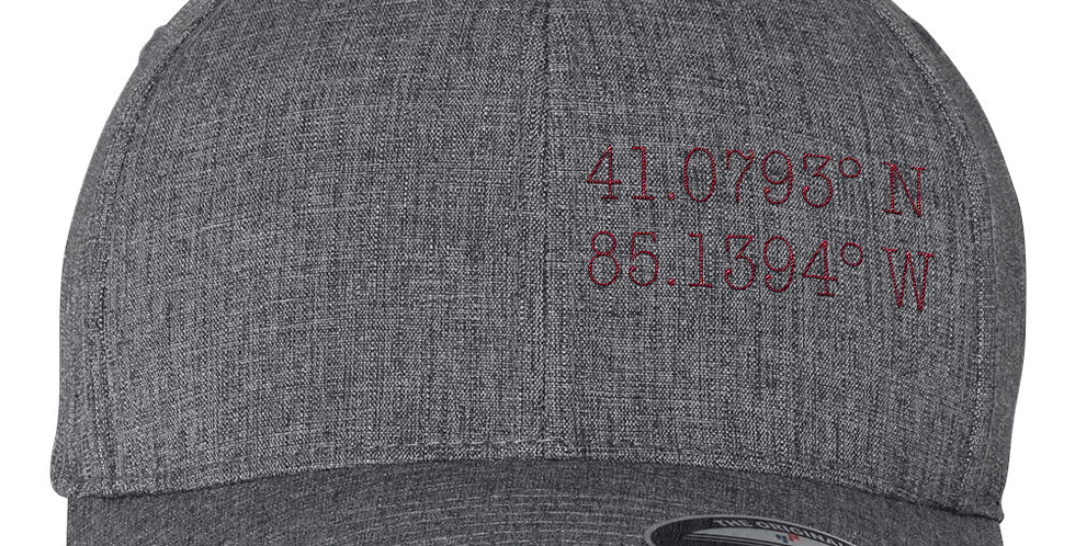 Local Coordinates Flexfit Hat - Dark Grey