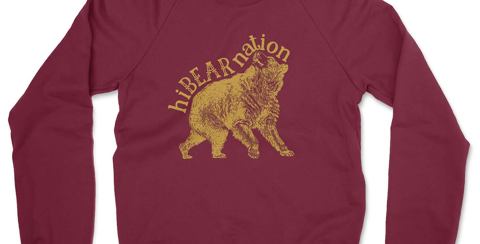 Hibearnation Crewneck Sweatshirt
