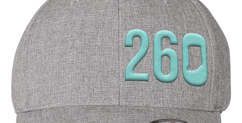 260 Flexfit Hat - Light Grey