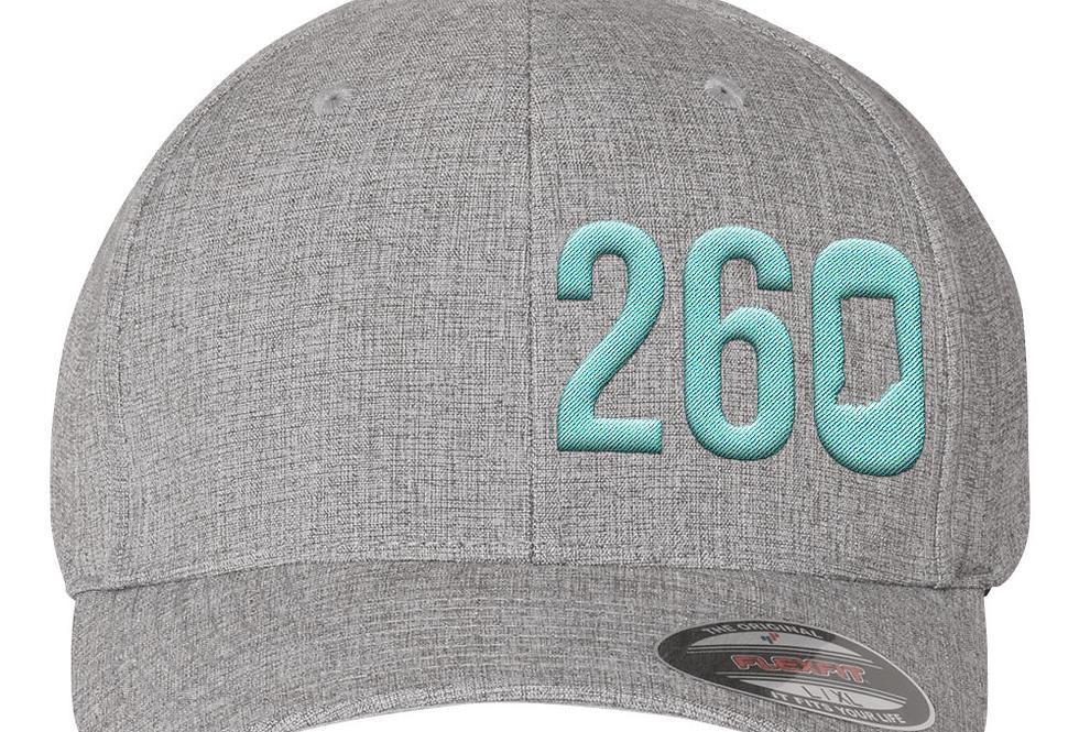 260 Flexfit Hat - Light Grey