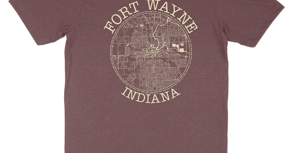Map It Out Unisex Tee