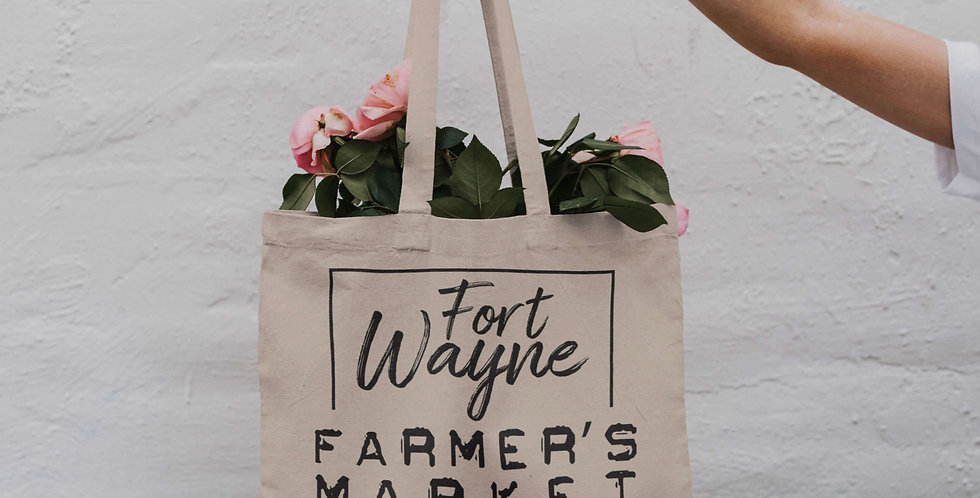 FW Farmer's Market Canvas Tote