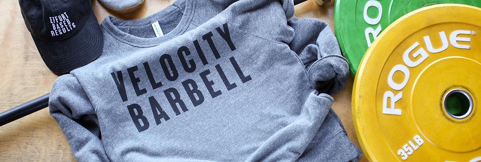 Velocity Barbell Crewneck Sweatshirt