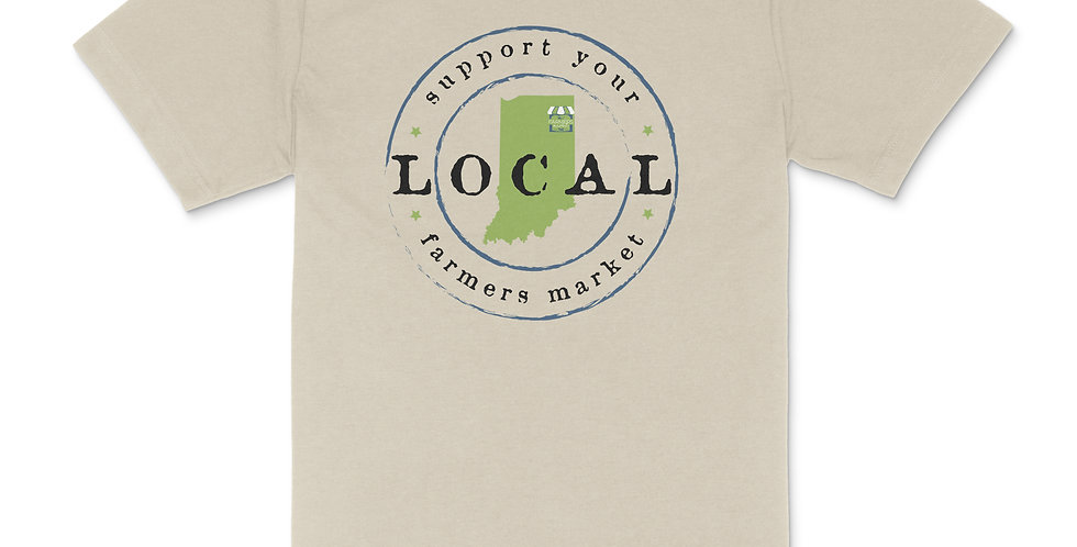 YLNI Suport Your Local Farmers Market Unisex Tee