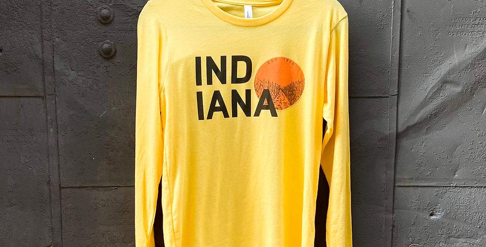 Indiana Sun Long Sleeve Tee
