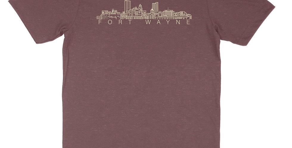 Fort Wayne Skyline Unisex Tee