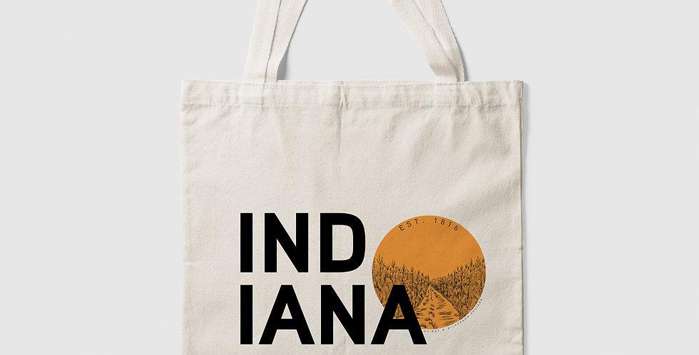 Indiana Sun Canvas Tote