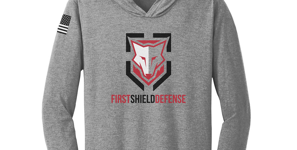 First Shield Defense Unisex Long Sleeve Hooded Tee