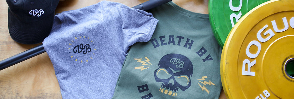 Death by Barbell Unisex Tee