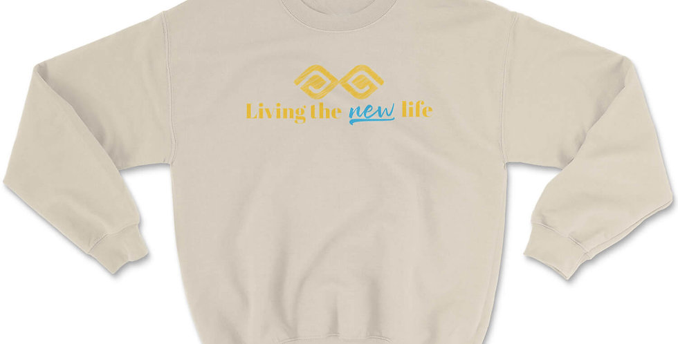 Living the New Life Crewneck Sweatshirt
