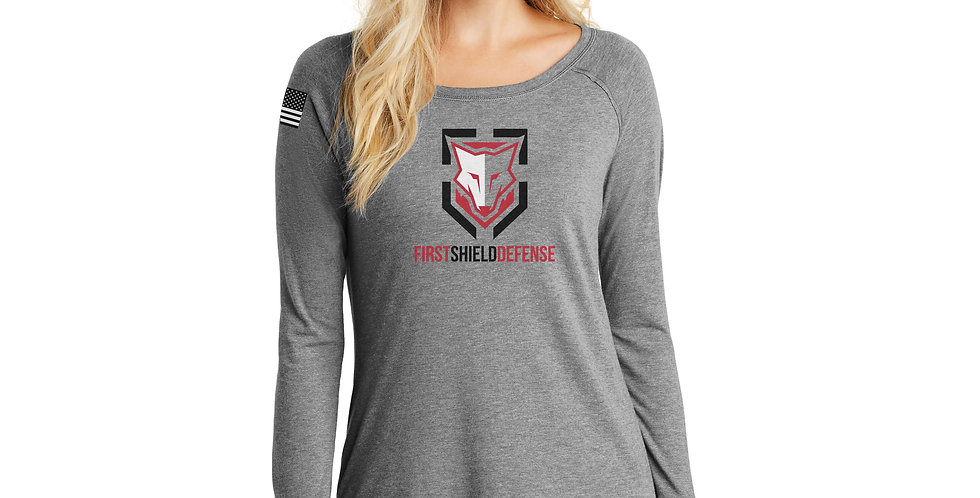 First Shield Defense Women's Long Sleeve Tee