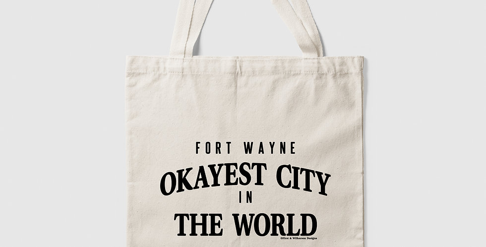 Okayest City Tote