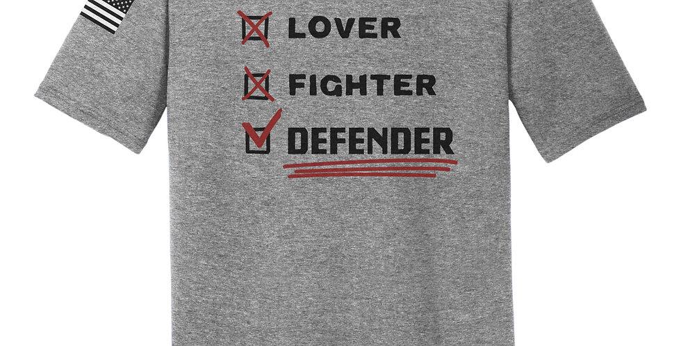 Lover, Fighter, Defender Unisex Tee