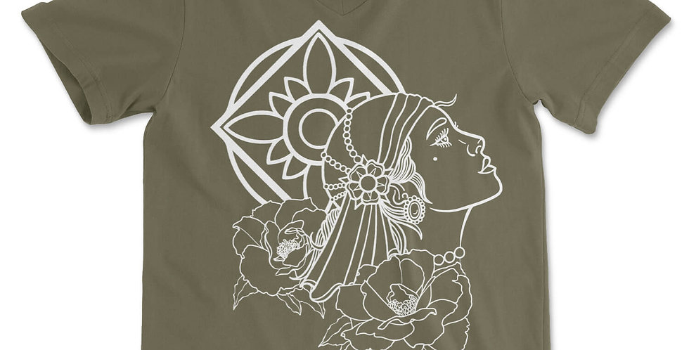 Gypsy Spirit V-Neck Tee