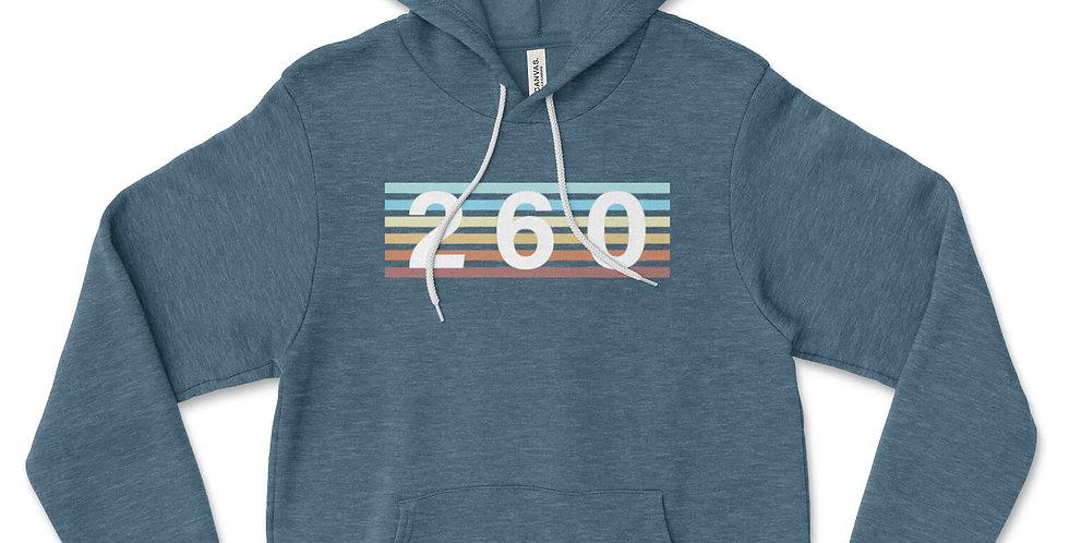 260 Vintage Stripe Hoodie