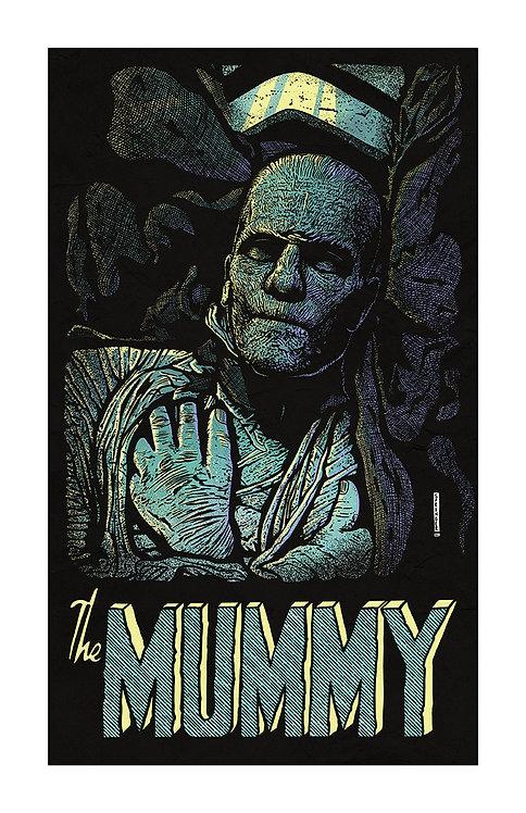 "ART PRINT - ""The Mummy"""