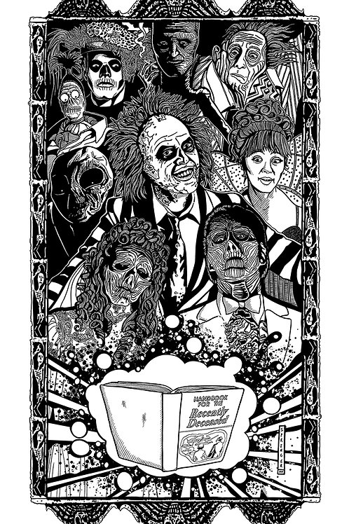 """Beetlejuice"" (B/W VERSION)"
