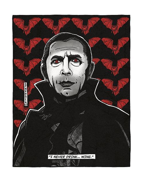 """ART PRINT - """"Dracula"""""""