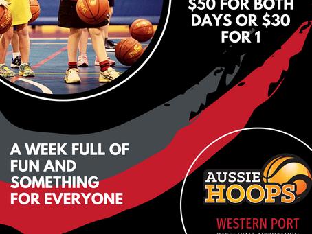 Term 1 Aussie Hoops Holiday Clinics