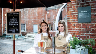 Our staff come fully licensed and smartly dressed in The Dolci Fizz embroided aprons. They've even been known to match their footwear, think thats called OCD?