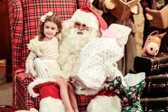 Papai Noel em Gramado RS no Hotel Casa da Montanha