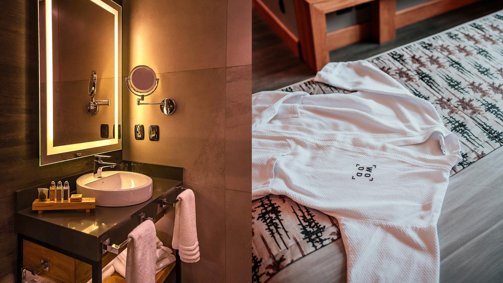 Cama Wood Room - Hotel Wood em Gramado