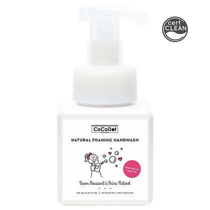 natural foaming handwash (unscented) 250 ml