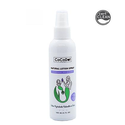 lavender dreams natural lotion spray w. organic meadowfoam seed oil 180 ml
