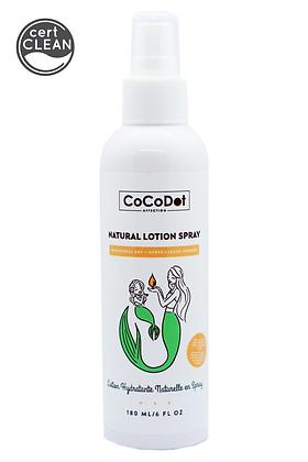 wonderful day natural lotion spray (melon) w. organic meadowfoam seed oil 180 ml