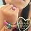 Thumbnail: key ring wrist huggle, rainbow matte & rainbow jewel, set of 2