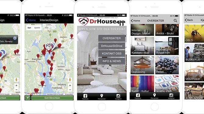 DrHouseAPP - snart klar for nedlasting fra App Store og Google Play
